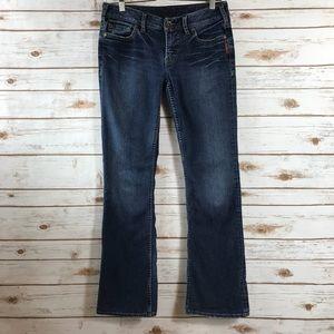 Silver Toni Bootcut Jeans (Bin: JJ226)